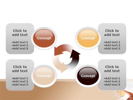 Domino Effect PowerPoint Template Slide 9