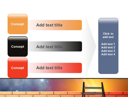 Fence Ladder PowerPoint Template Slide 12