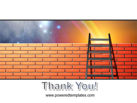 Fence Ladder PowerPoint Template Slide 20