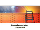 Consulting: Fence Ladder PowerPoint Template #07930