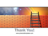 Fence Ladder PowerPoint Template#20