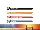 Fence Ladder PowerPoint Template#3