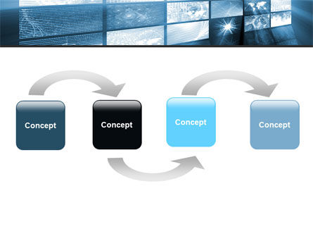Multi Screen PowerPoint Template Slide 4