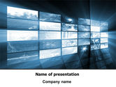 Careers/Industry: Plantilla de PowerPoint - pantalla multiple #07932