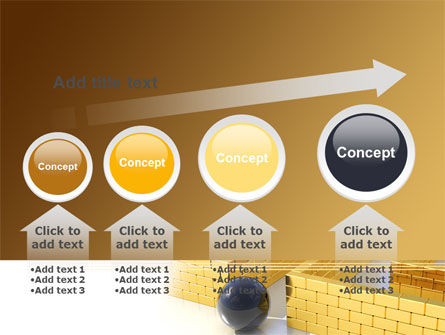 Yellow Labyrinth PowerPoint Template Slide 13
