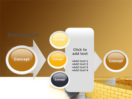 Yellow Labyrinth PowerPoint Template Slide 17
