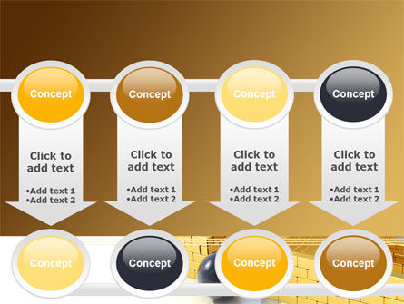 Yellow Labyrinth PowerPoint Template Slide 18