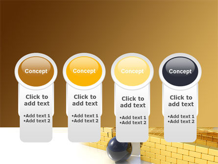 Yellow Labyrinth PowerPoint Template Slide 5
