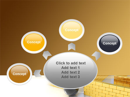 Yellow Labyrinth PowerPoint Template Slide 7