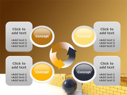 Yellow Labyrinth PowerPoint Template Slide 9