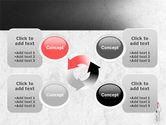 3D Man with Headache PowerPoint Template#9