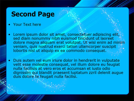 Abstract Roll PowerPoint Template Slide 2
