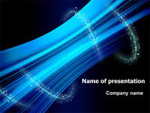 Abstract/Textures: Abstract Roll PowerPoint Template #07937
