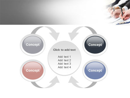 Business Meeting Notes PowerPoint Template Slide 6