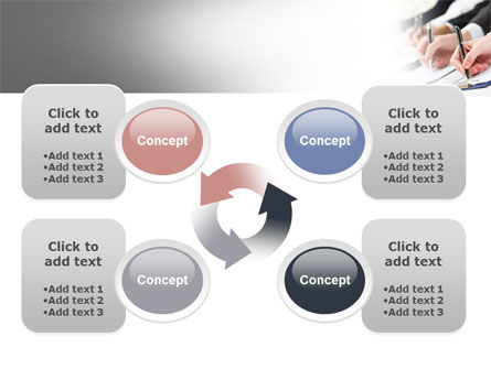 Business Meeting Notes PowerPoint Template Slide 9