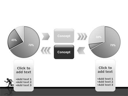 Stuck Man PowerPoint Template Slide 11