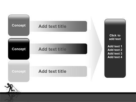 Stuck Man PowerPoint Template Slide 12