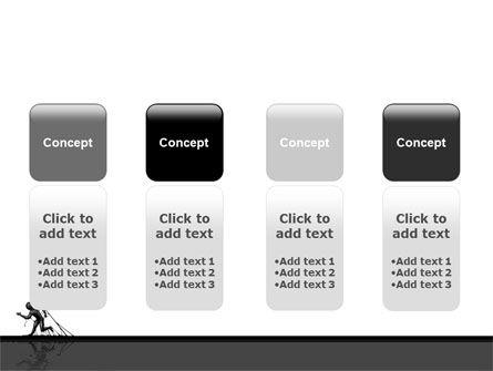 Stuck Man PowerPoint Template Slide 5