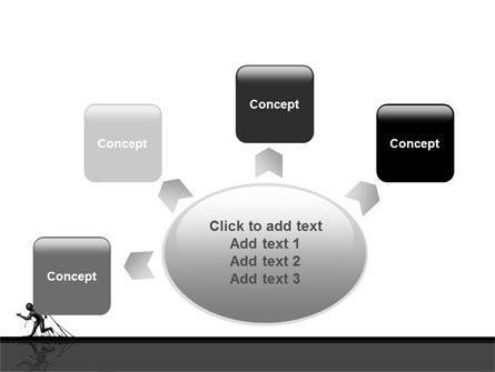 Stuck Man PowerPoint Template Slide 7
