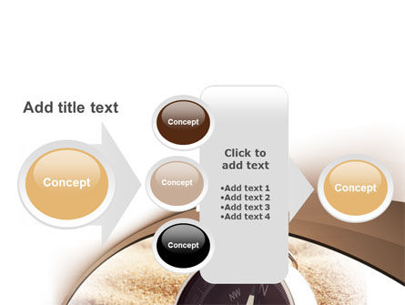 Compass in Sand PowerPoint Template Slide 17