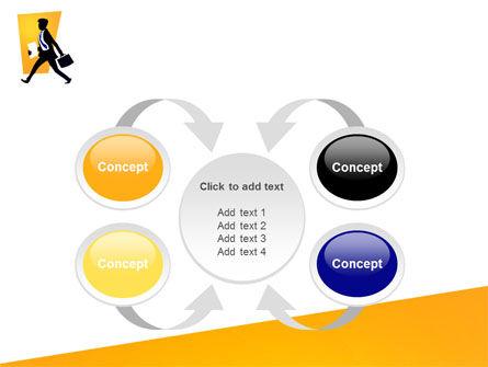 Business Rush PowerPoint Template Slide 6
