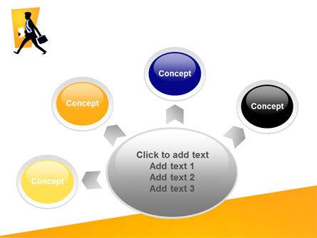Business Rush PowerPoint Template Slide 7