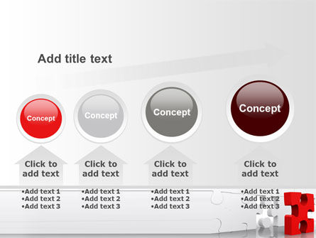 Fitting Puzzle PowerPoint Template Slide 13