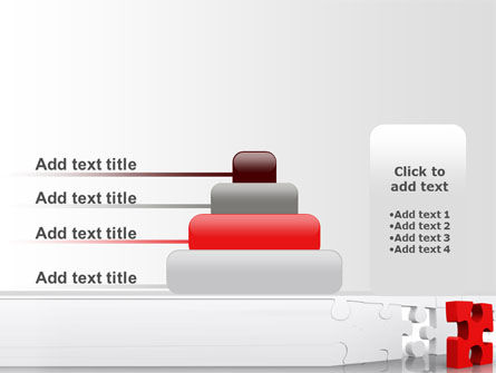 Fitting Puzzle PowerPoint Template Slide 8