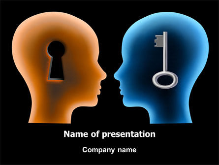 Consulting: Matching Key PowerPoint Template #07949