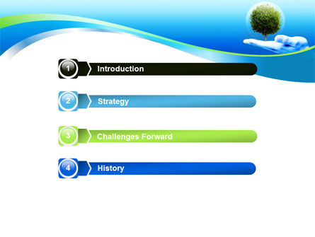 Tree Protection PowerPoint Template, Slide 3, 07951, Nature & Environment — PoweredTemplate.com