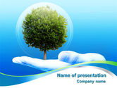 Nature & Environment: Tree Protection PowerPoint Template #07951