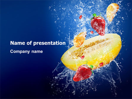 Mango Mix PowerPoint Template
