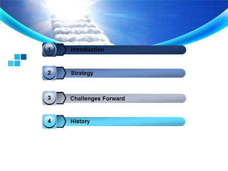 Heaven Ladder PowerPoint Template Slide 3