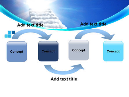 Heaven Ladder PowerPoint Template Slide 4