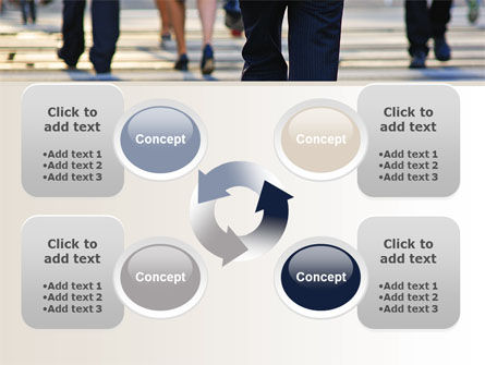 Free Road Crossing PowerPoint Template Slide 9