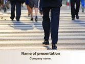 Business: Templat PowerPoint Gratis Penyeberangan Jalan #07955