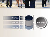 Road Crossing Free PowerPoint Template#11