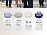 Road Crossing Free PowerPoint Template#5