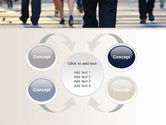Road Crossing Free PowerPoint Template#6