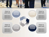 Road Crossing Free PowerPoint Template#9