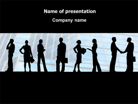 Business: People and Careers PowerPoint Template #07957