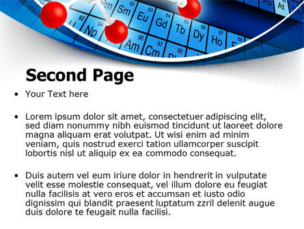 Periodic Table Of Chemical Elements PowerPoint Template, Slide 2, 07959, Technology and Science — PoweredTemplate.com