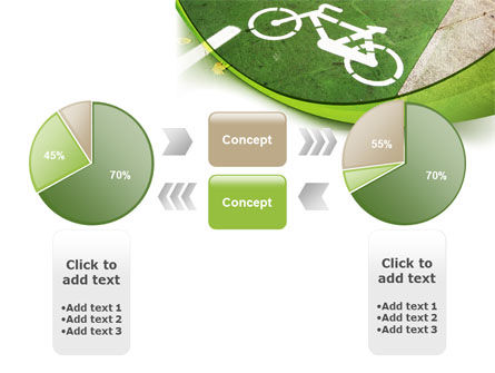 Bicycle Zone PowerPoint Template Slide 11