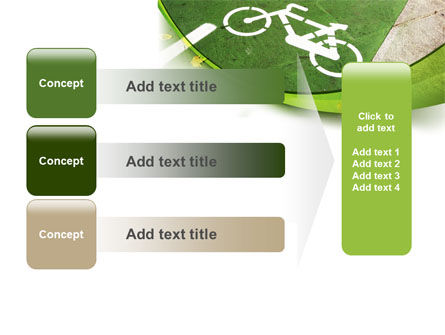 Bicycle Zone PowerPoint Template Slide 12
