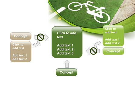 Bicycle Zone PowerPoint Template Slide 13