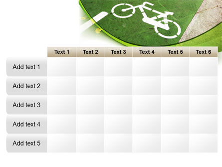 Bicycle Zone PowerPoint Template Slide 15