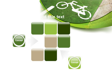 Bicycle Zone PowerPoint Template Slide 16