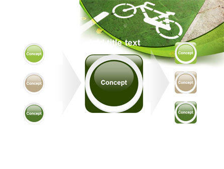 Bicycle Zone PowerPoint Template Slide 17