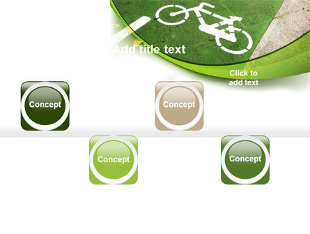 Bicycle Zone PowerPoint Template Slide 19