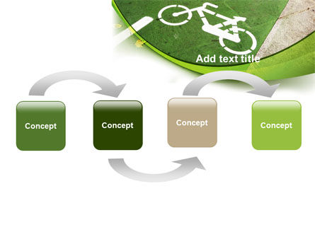 Bicycle Zone PowerPoint Template Slide 4